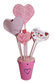Bouquet of Hearts craft