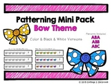 Bow Pattern Cards
