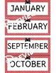 Bow Themed Birthday Bulletin Board