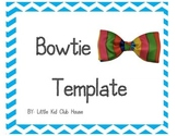 Bow Tie / Hair Bow Template