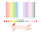 Bow Tie Printable Planner Stickers