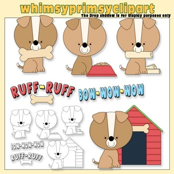 Bow Wow Clipart