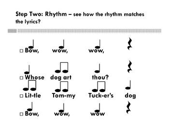 Bow Wow Wow - A Rhythm Activity - Accomp. PowerPoint