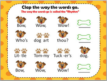 Bow, Wow, Wow {Kodaly Song for teaching ta rest, ta, ti ti, and re}