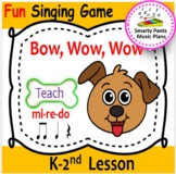 Bow, Wow, Wow {Kodaly Song for teaching ta rest, ta, ti ti