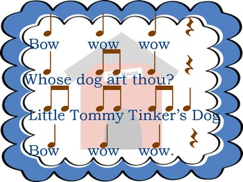 """Bow Wow Wow: a Song to Learn """"re"""""""