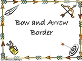 Bow and Arrow Border