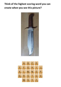 Bowie Knife Handout