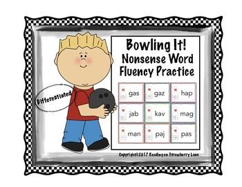 Bowlin' It!  Nonsense Word Fluency Practice