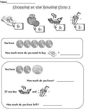 Bowling: A Math & Literacy Pack