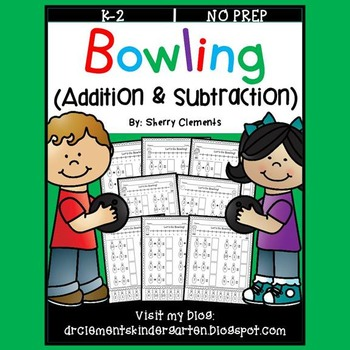 Bowling Addition and Subtraction