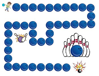 Bowling Board Game