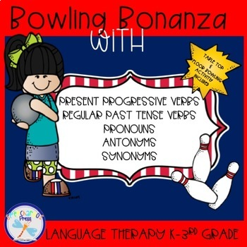 Bowling Bonanza with Verbs, Pronouns, Antonyms and Synonyms