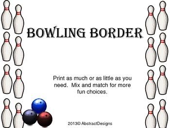 Bowling Border
