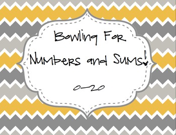 Bowling For Numbers!