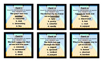 Bowling Game - Assessment Alley (Vocabulary & Word Analysis)
