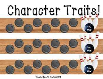 Bowling Game - Bowling for Character Traits