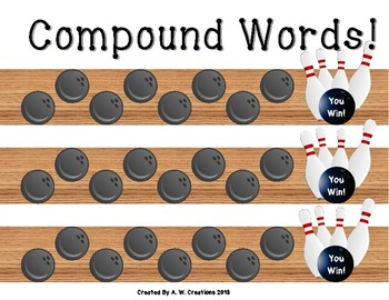 Bowling Game - Bowling for Compound Words