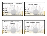 Bowling Game - Bowling for Context Clues (Fill in the Blank)