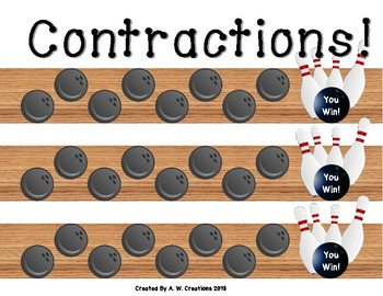 Bowling Game - Bowling for Contractions