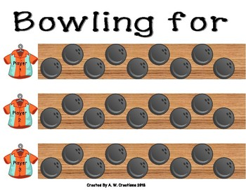 Bowling Game - Bowling for Personification