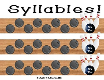 Bowling Game - Bowling for Syllables