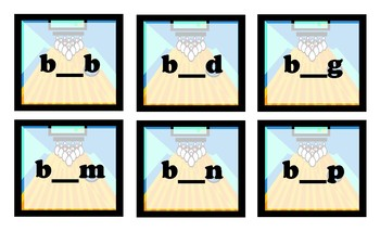 Bowling Game - Bowling for CVC Short Vowel Words