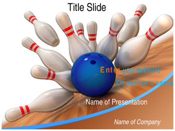 Bowling PPT Template
