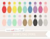 Bowling Pin Clipart; Sports, Equipment