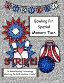 Bowling Pin Spatial Memory Task