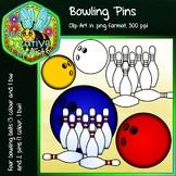 Bowling Pins - Free Clip art