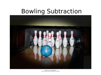 Bowling Subtraction