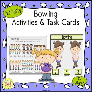 Bowling Worksheets Activities Games Printables and More