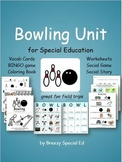 Bowling Field Trip Unit for Special Education