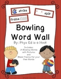 Bowling Word Wall Display