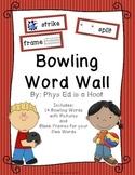 Bowling Word Wall Display