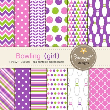 Bowling digital paper