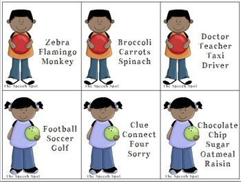Bowling for Categories