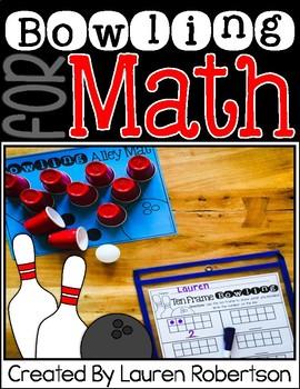 Math Center- Bowling