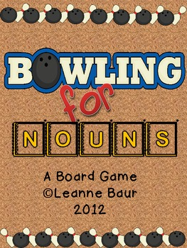 Bowling for Nouns Game