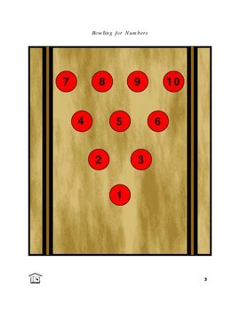Bowling for Numbers early math game