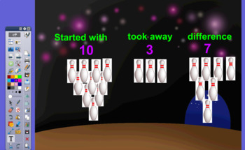 Bowling for Subtraction