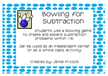 Bowling for Subtraction and Addition