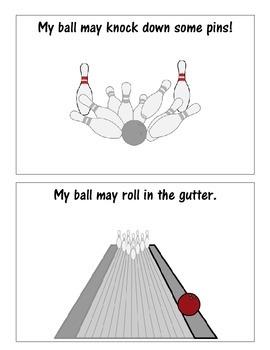 Bowling social story book