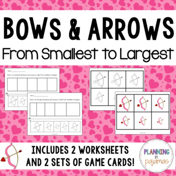 Bows and Arrows - From Smallest to Largest