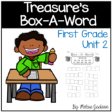 "Box-A-Word ""Treasures"" Spelling Practice Unit 2 First Grade"