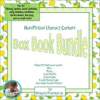 Box Book Bundle: Literacy Center With Real World Informati