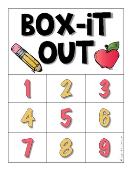 Box It Out: Back to School Edition