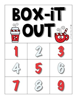 Box-It Out: Winter Freebie