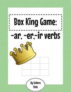 Box King Game: -ar,-er, -ir verbs